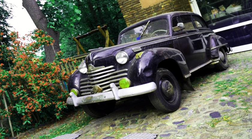 Oldtimer Opel Olympia restaurieren