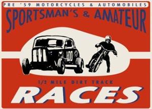 3. HINDENBERG DIRT TRACK RACE