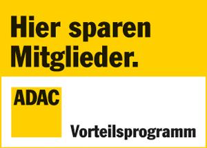 Preisvorteil für ADAC Mitglieder